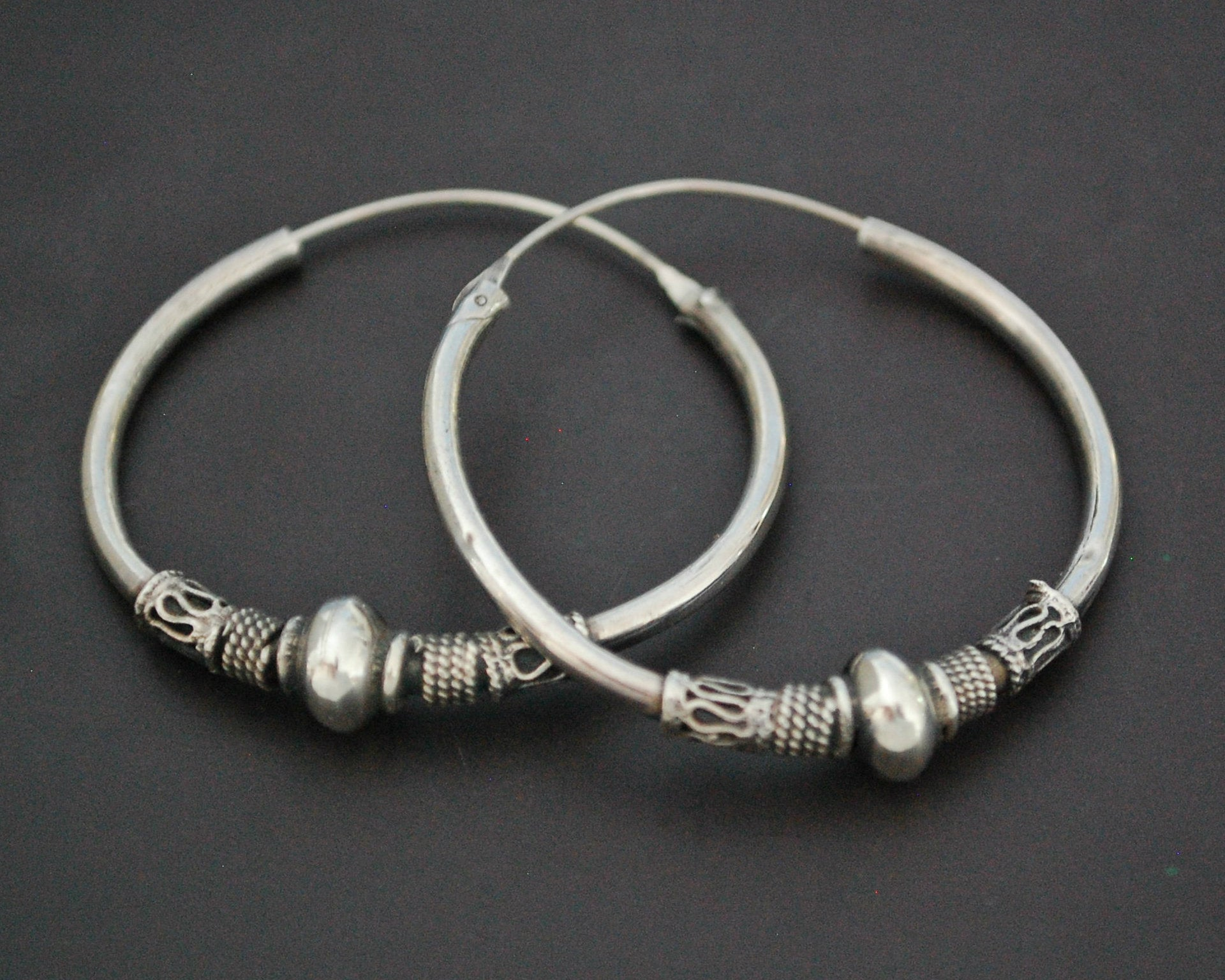 Bali Hoop Earrings - LARGE