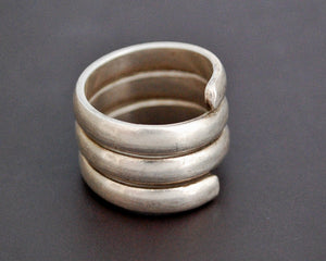 Ethnic Coil Ring from India - Size 7.5