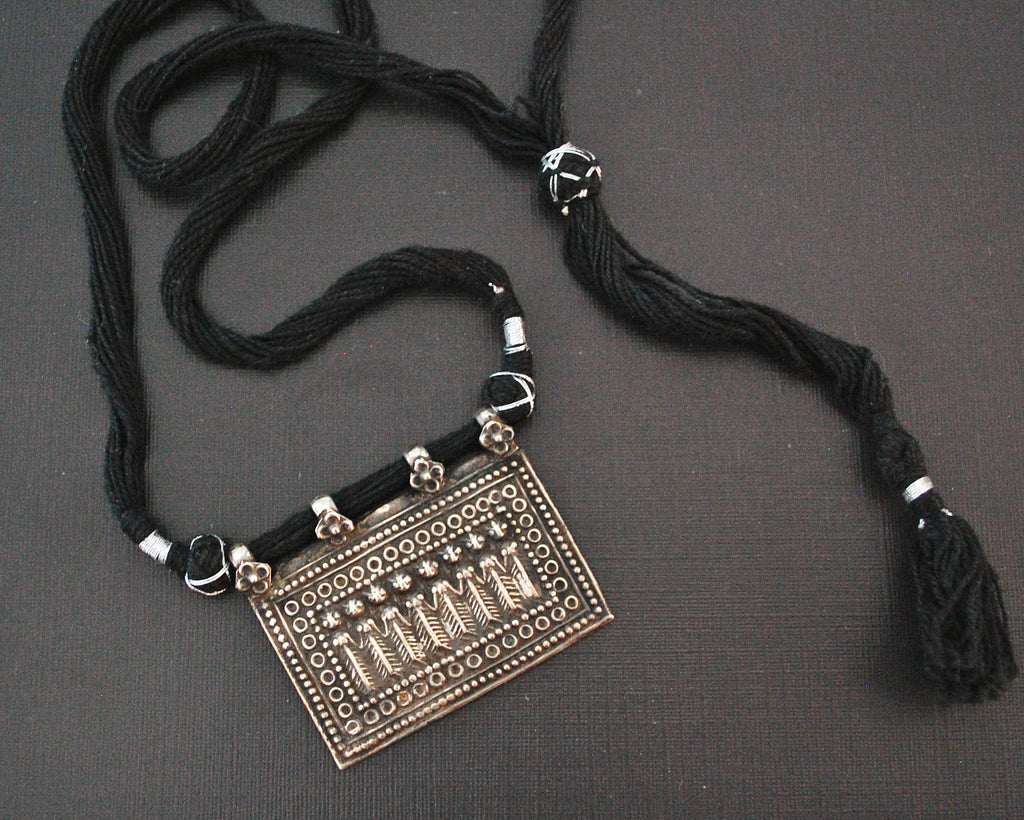 Hindu Amulet Sapta Matrikas Necklace on Adjustable Cord