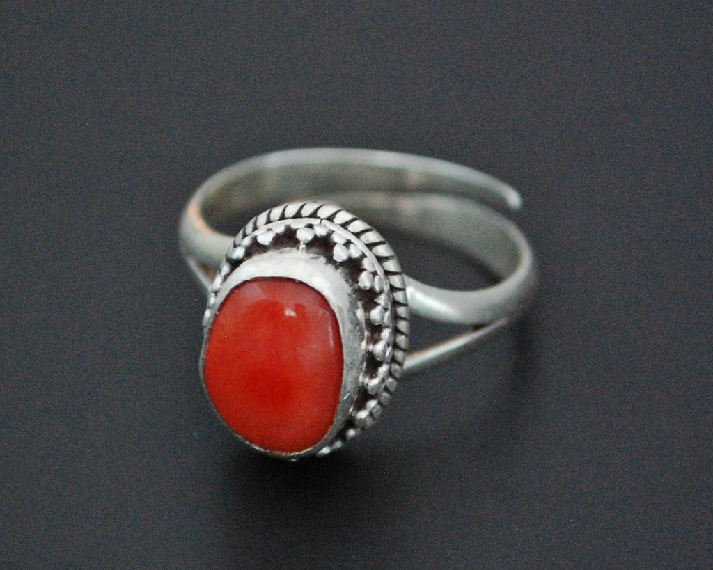 Vintage Nepali Ring - Size 7 / Adjustable