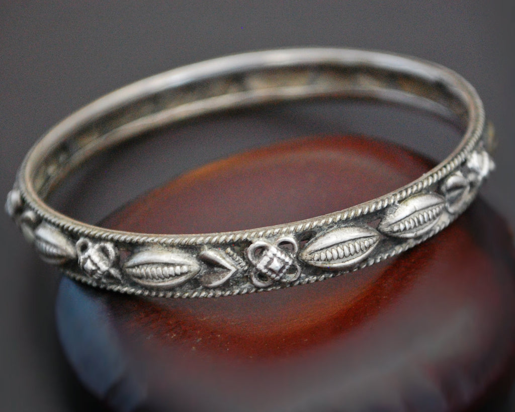 Rajasthani Silver Bangle Bracelet - SMALL /MEDIUM