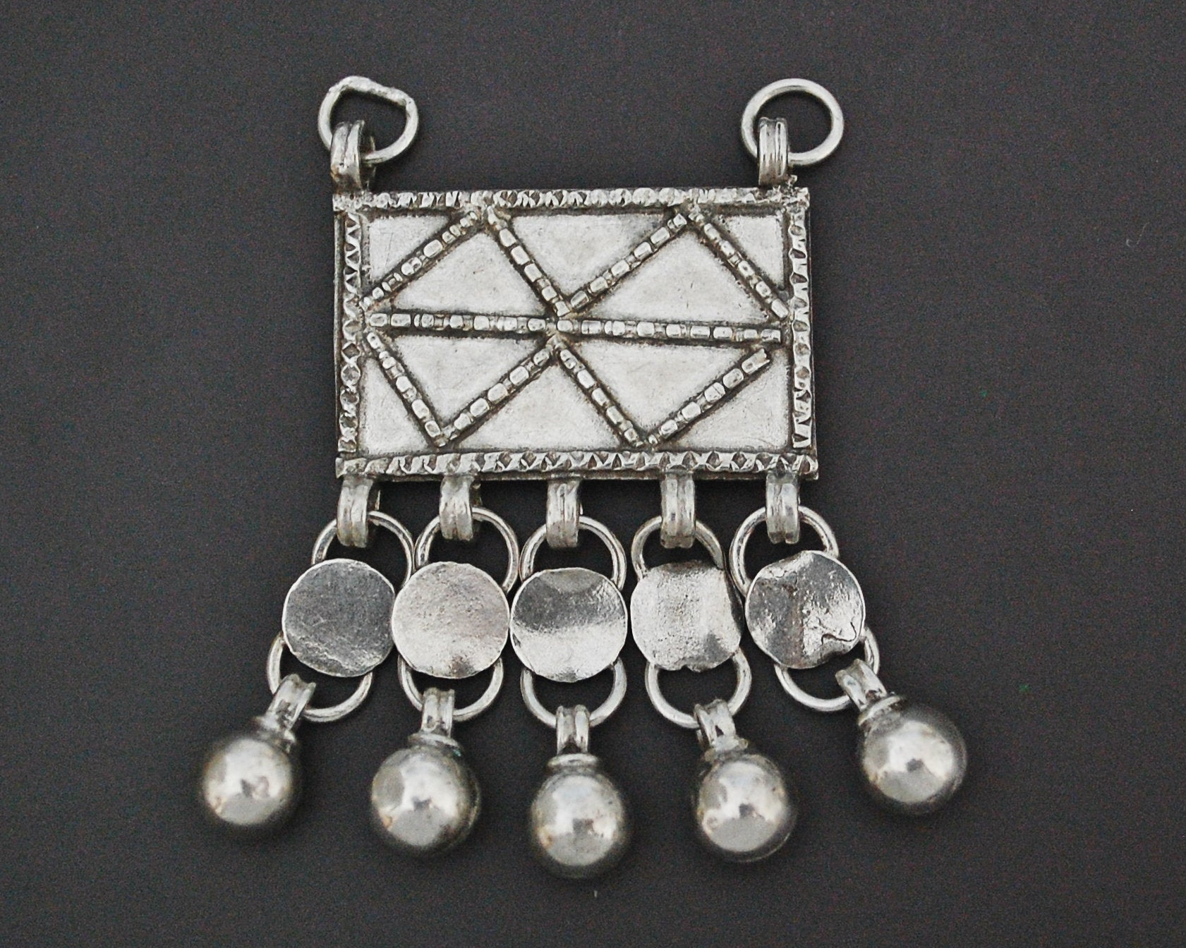 Bedouin Egyptian Zar Amulet with Bells