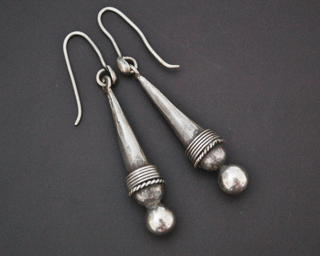 Cone Dangle Earrings from India