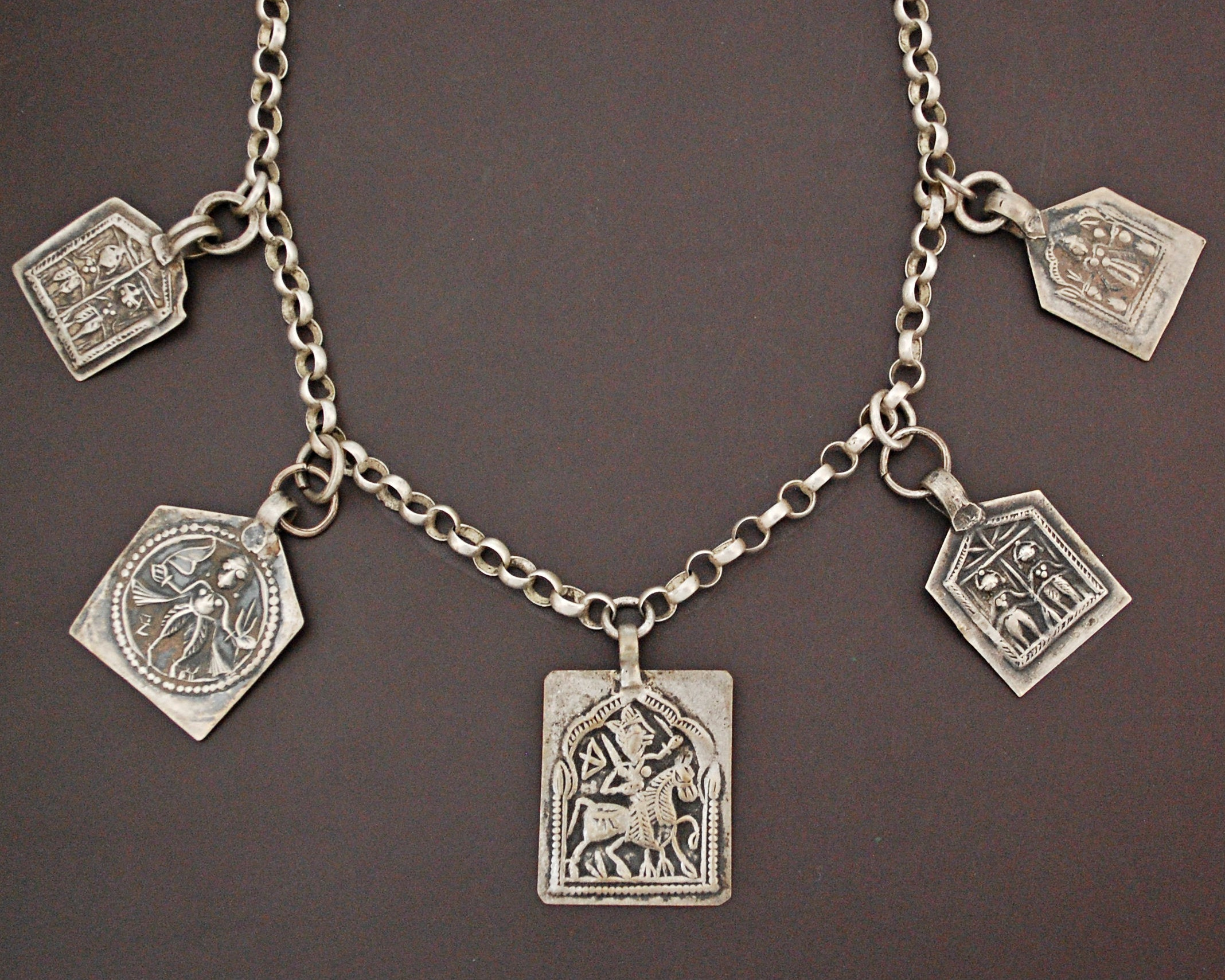 Hindu Amulet Pendant Necklace