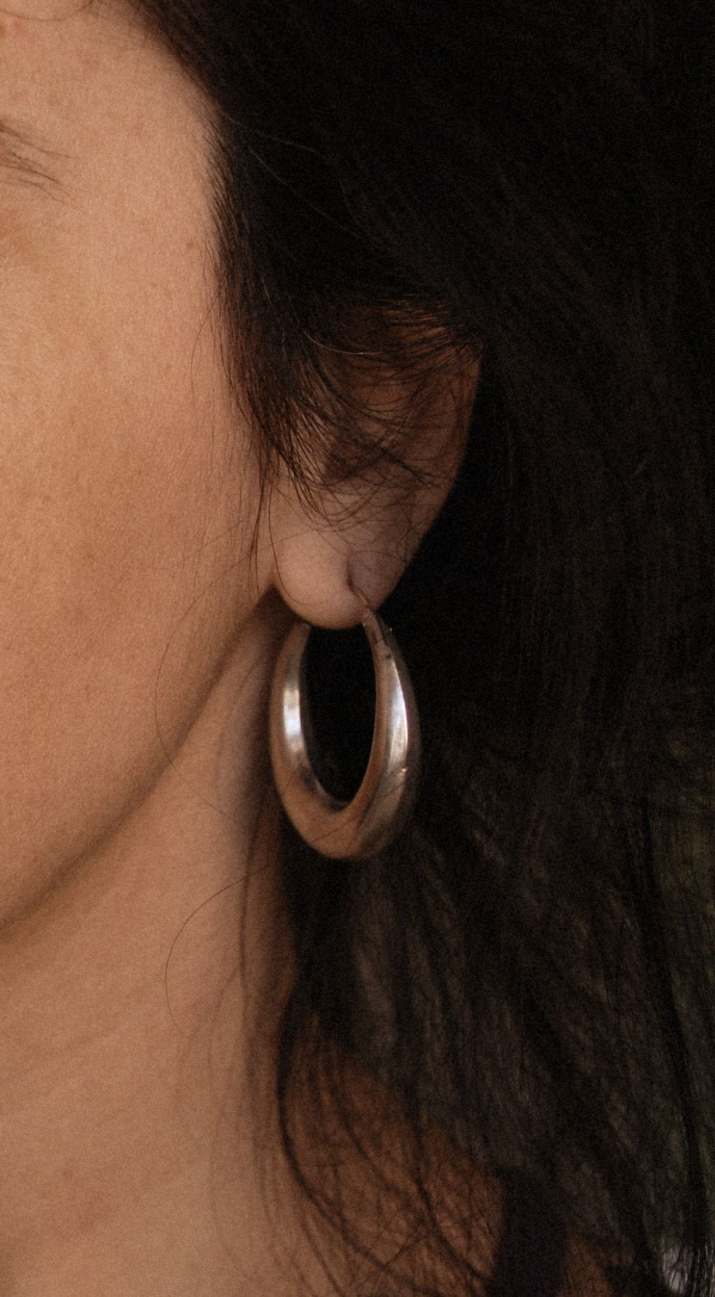 Ethnic Hoop Earrings - MEDIUM/LARGE