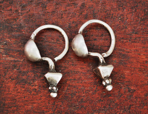 Tribal Indian Earrings from Gujarat