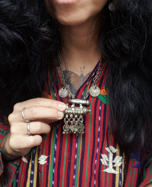 Yemeni Bedouin Pendant with Bells