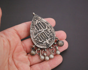 Rare Egyptian Zar Amulet Pendant with Bells