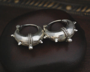 Rajasthani Hoop Earrings - Small