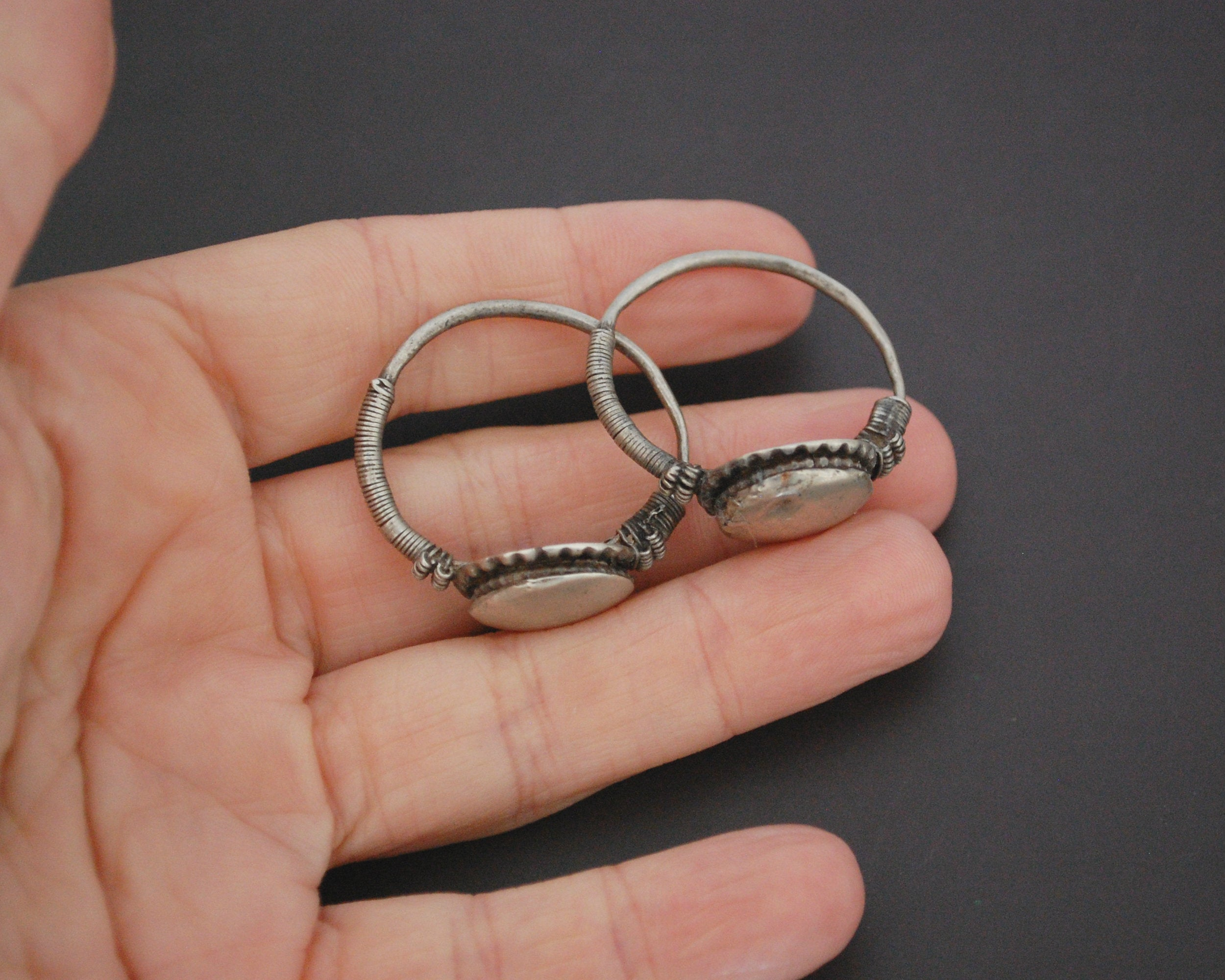 Afghani Hoop Earrings - Medium