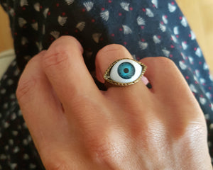 Eye Ring - Size 5.5