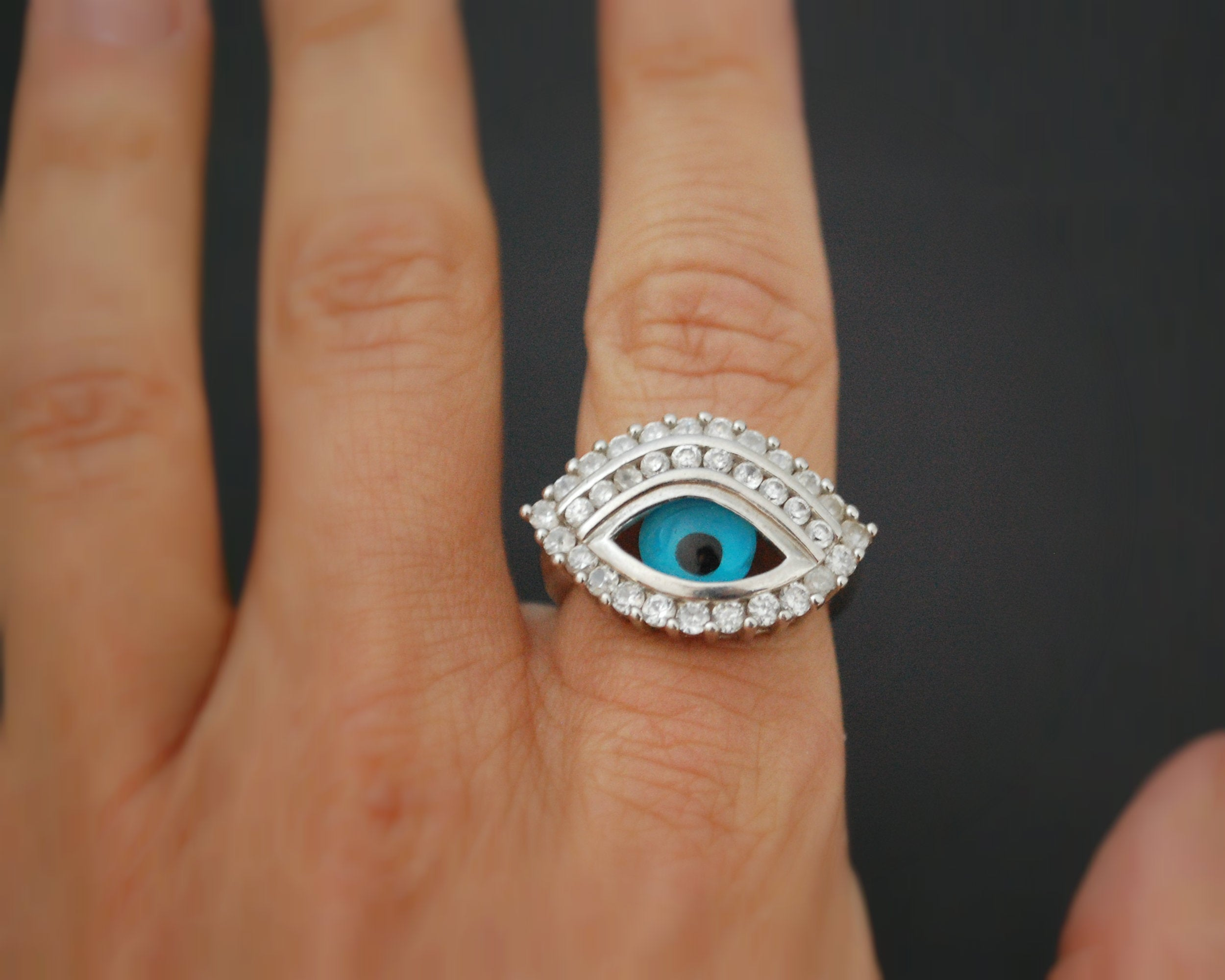Eye Ring - Size 8