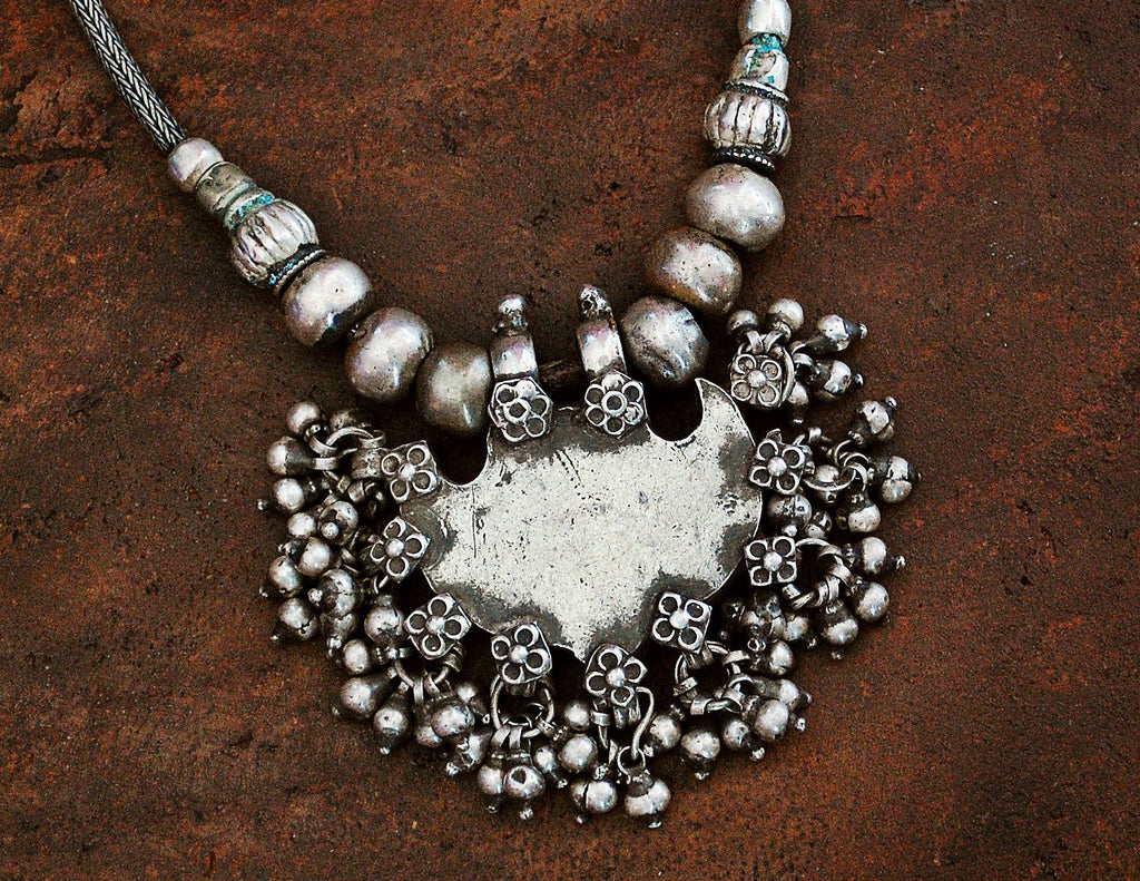 Antique Rajasthani Silver Necklace
