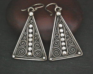 Nepali Filigree Dangle Earrings