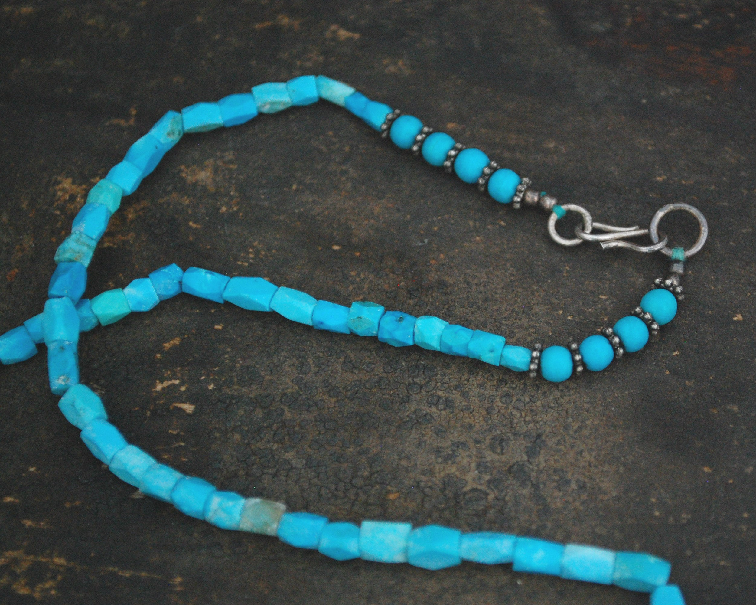 Turquoise Necklace from Afghanistan