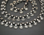 Long Indian Silver Necklace