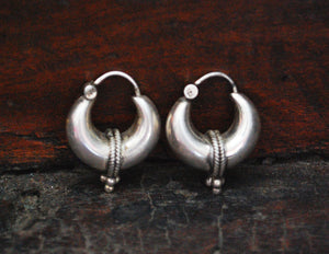 Ethnic Hoop Earrings - SMALL