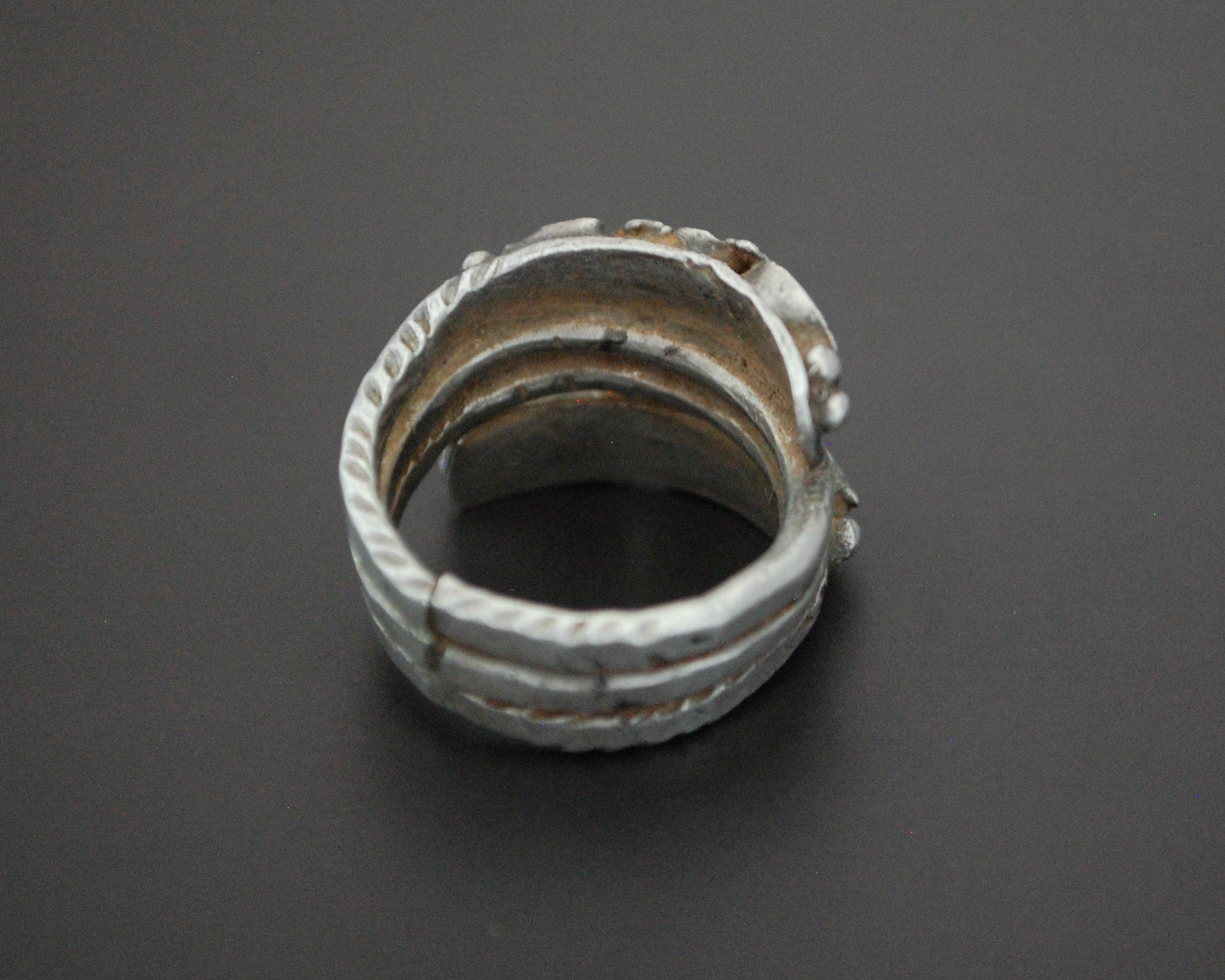 Ethnic Coil Ring from Afghanistan - Size 7