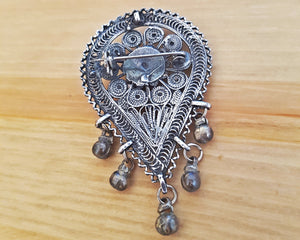 Yemeni Filigree Pendant Brooch