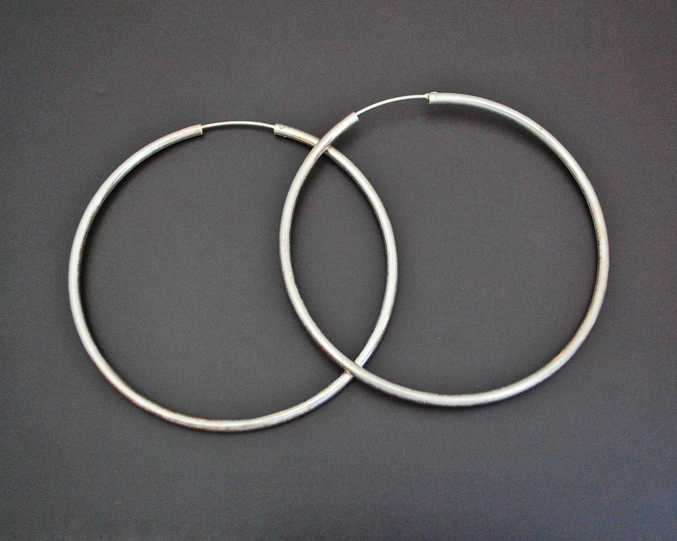 Huge Ethnic Hoop Earrings - XLARGE