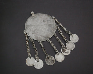Old Berber Pendant with Coins