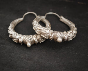 Nepali Hoop Earrings - LARGE