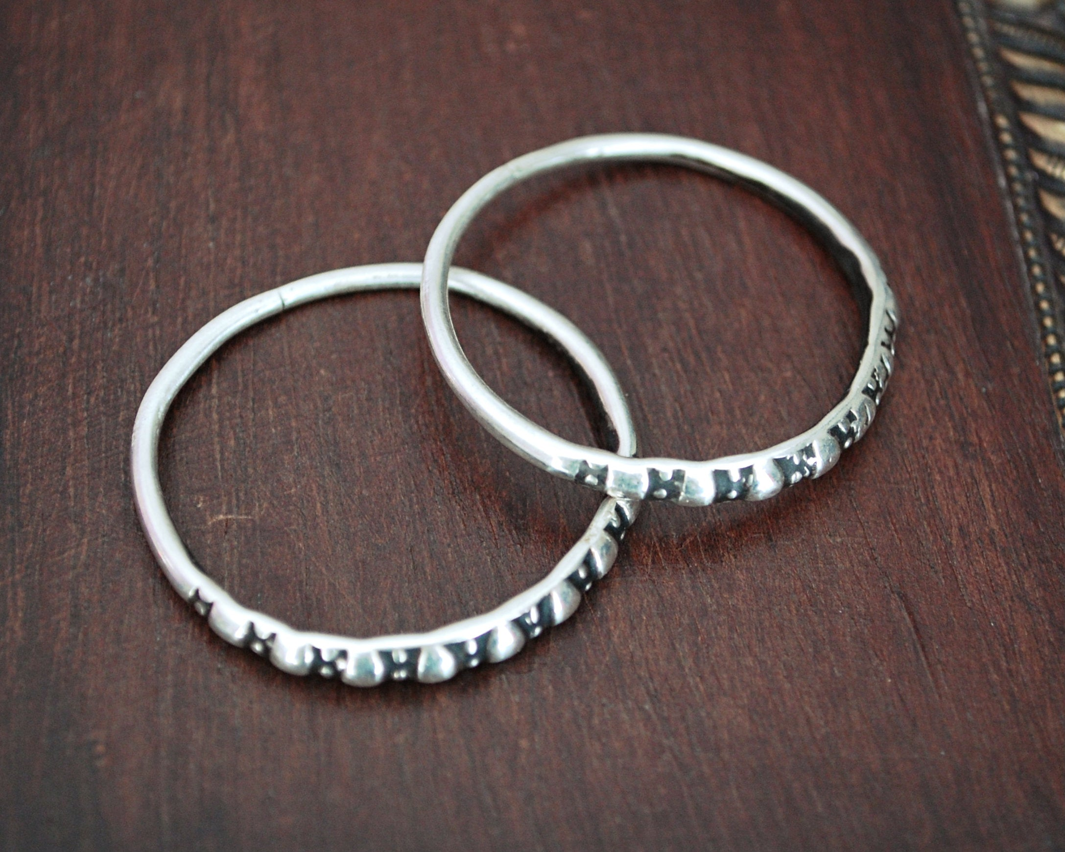 Afghani Hoop Earrings - Old Style