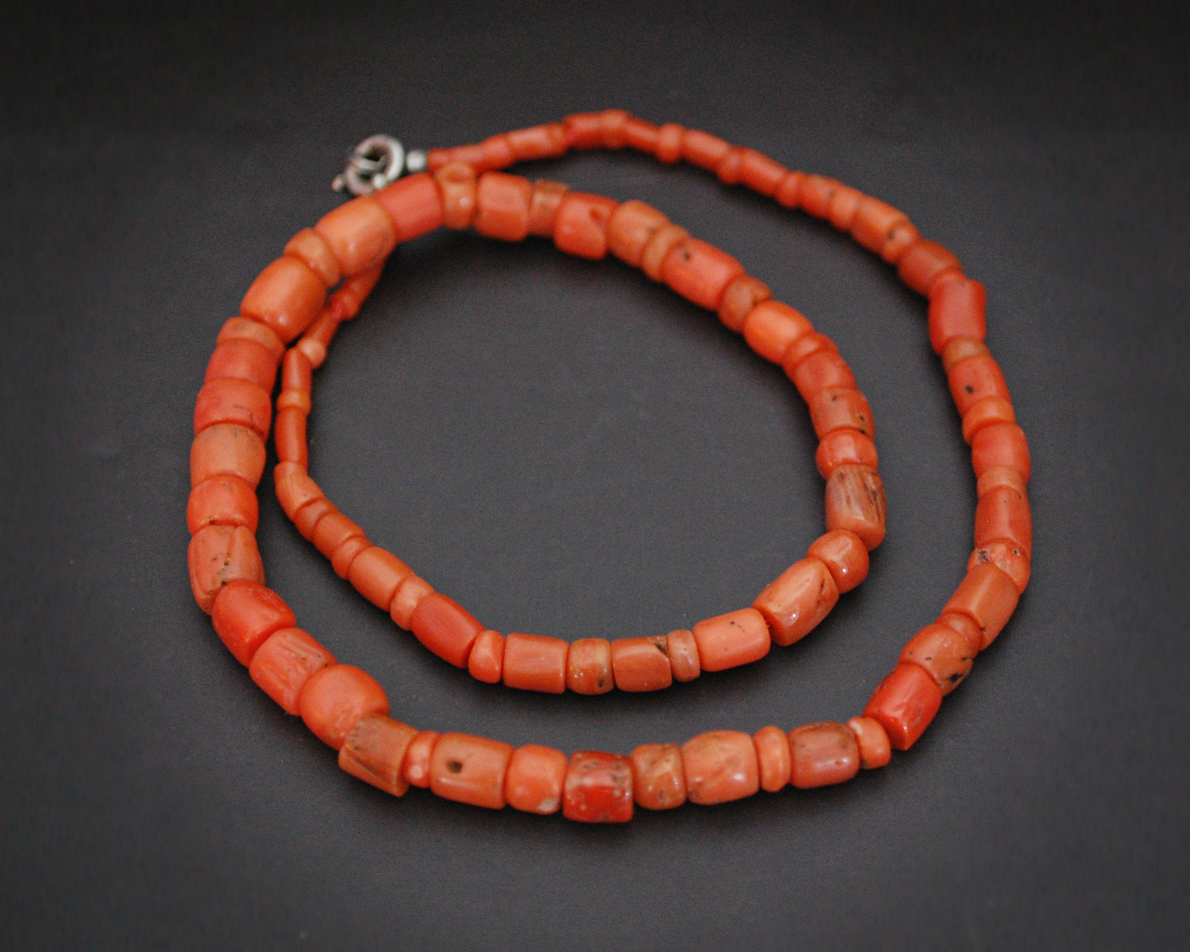 Old Berber Coral Necklace