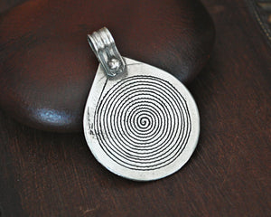 Berber Spiral Pendant from Morocco
