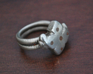 Old Fulani Ring from Mali - Size 7.5