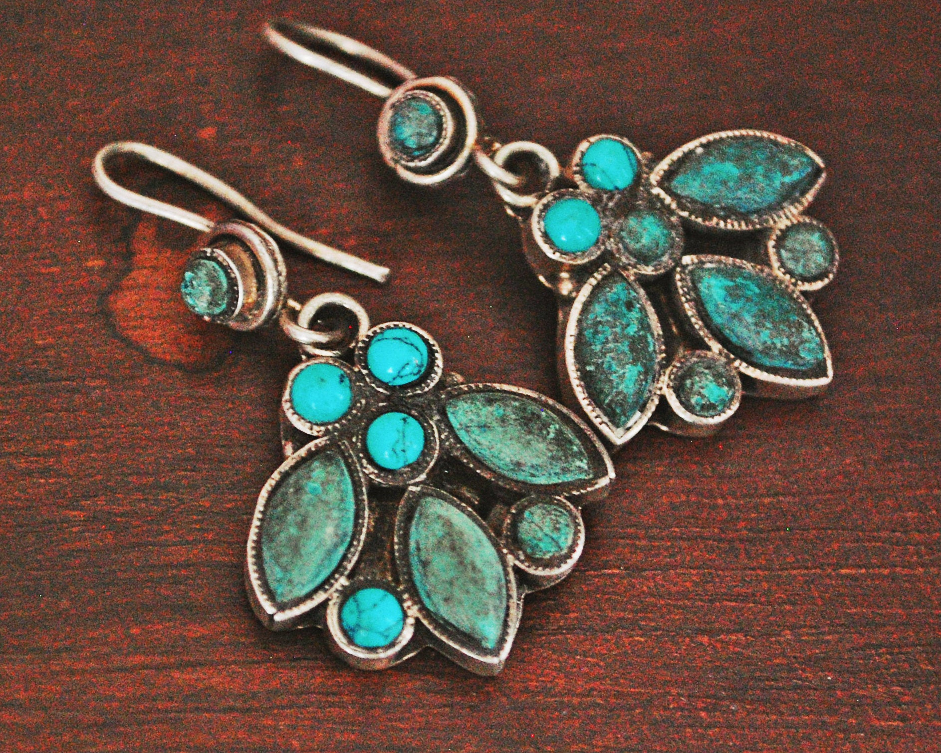 Turquoise Earrings from India