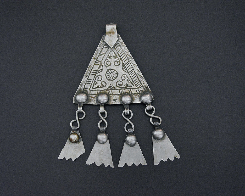 Berber Pendant with Dangles