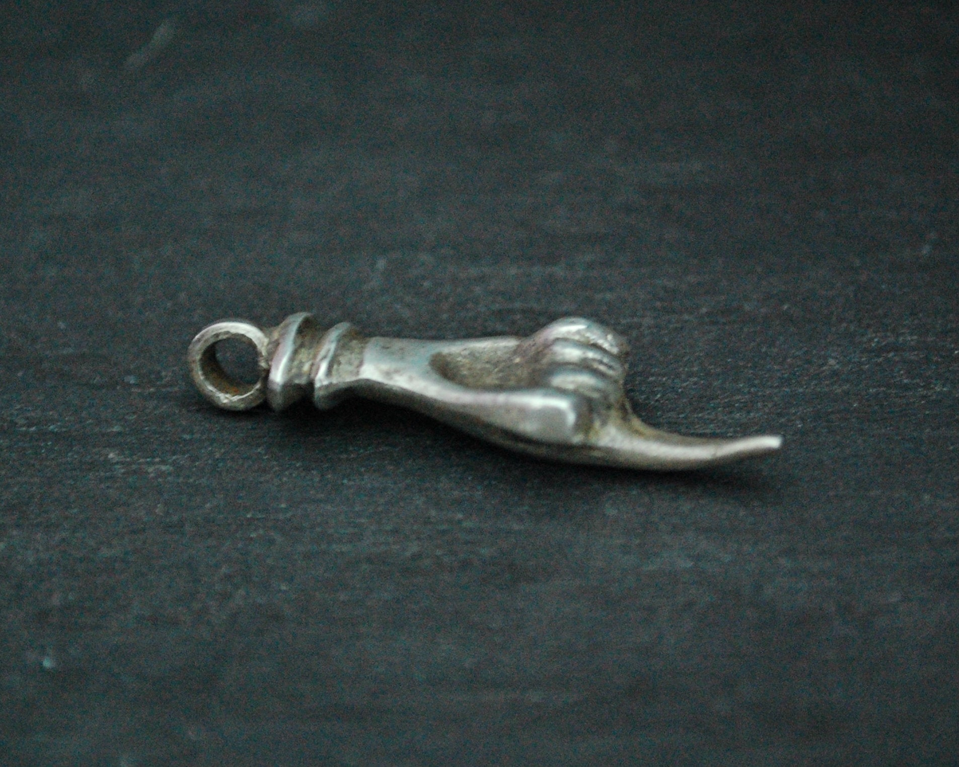 Solid Silver Hand Pendant