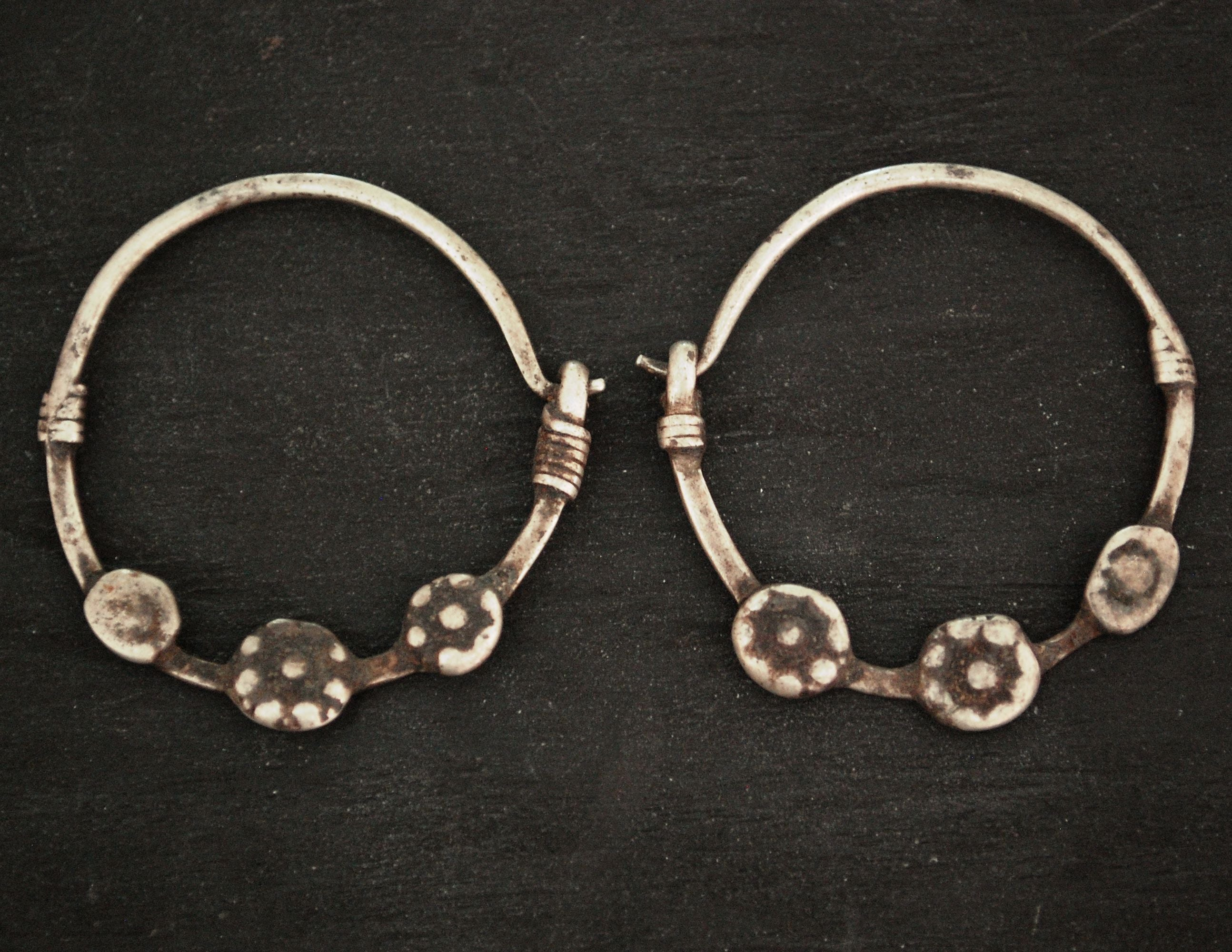 Afgani Hoop Earrings