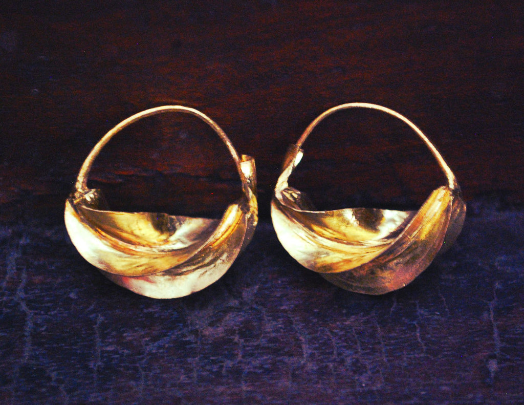 Fulani Hoop Earrings SMALL - MEDIUM