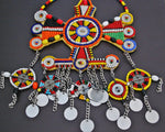 Large African Beaded Maasai Necklace