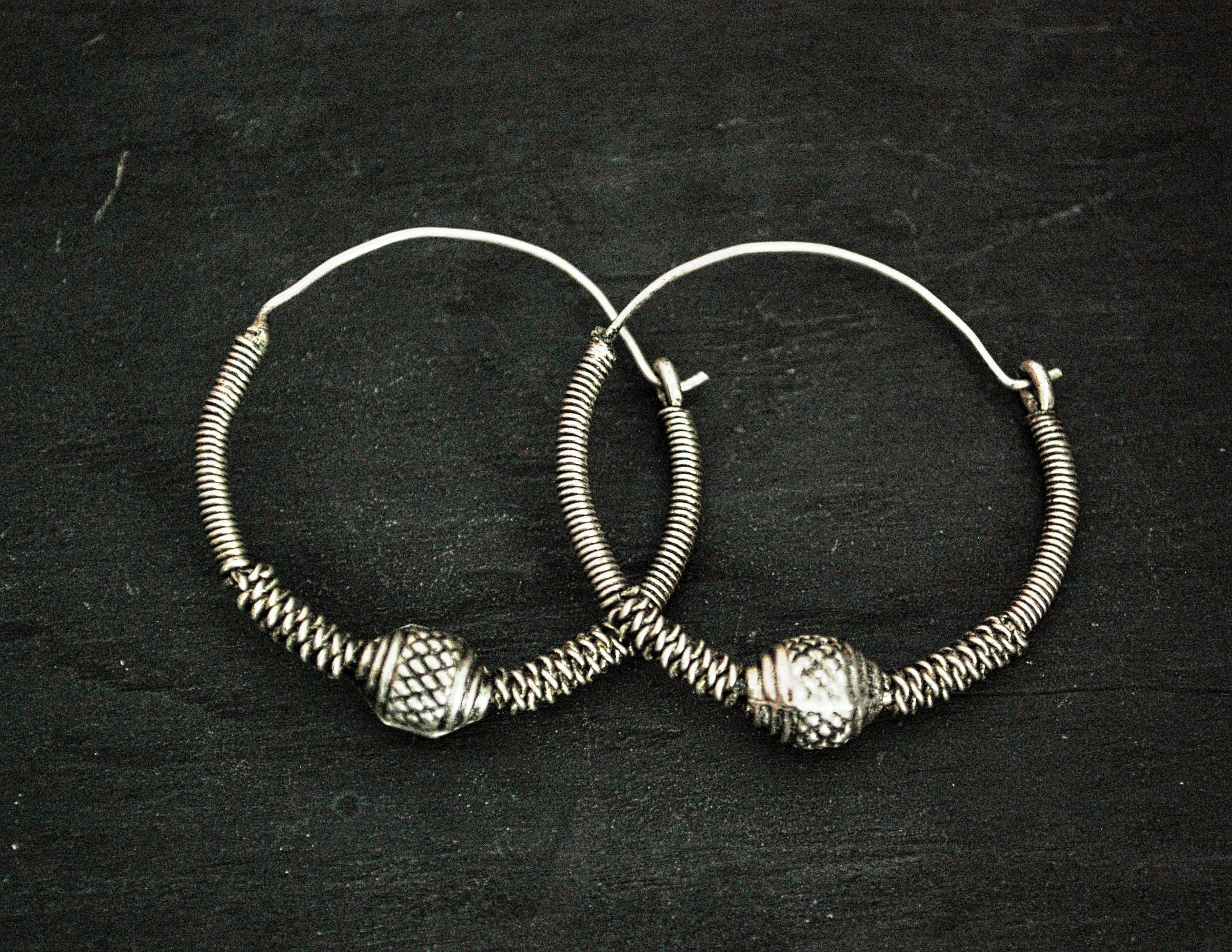 Tribal Rajasthani Hoop Earrings