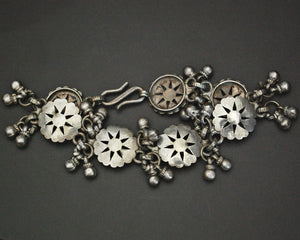 Rajasthani Silver Bracelet with Bells