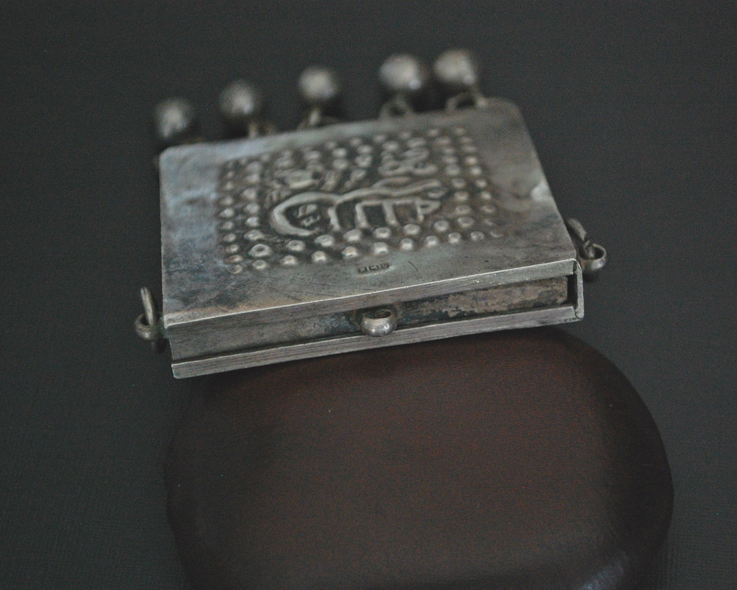 Egyptian Zar Amulet Pendant Box with Bells