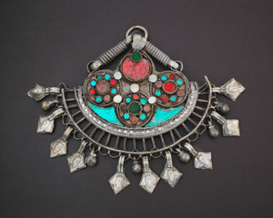 Tribal Rajasthani Glass Pendant or Ornament