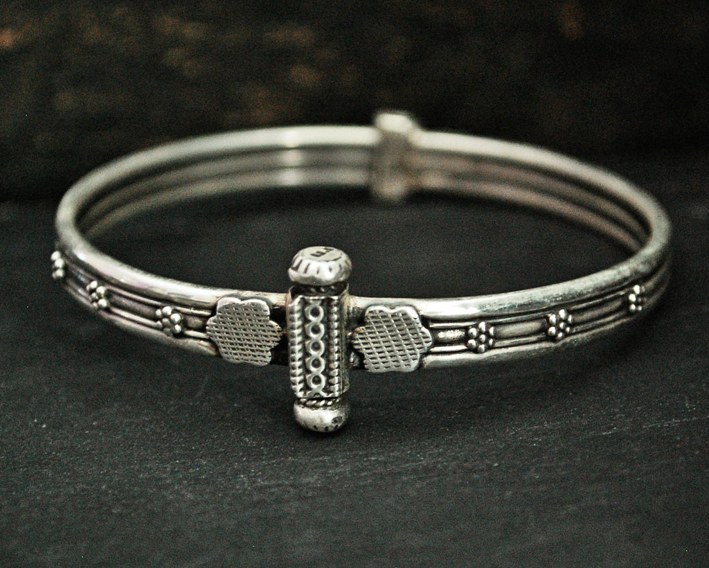 Indian Rajasthani Silver Bracelet