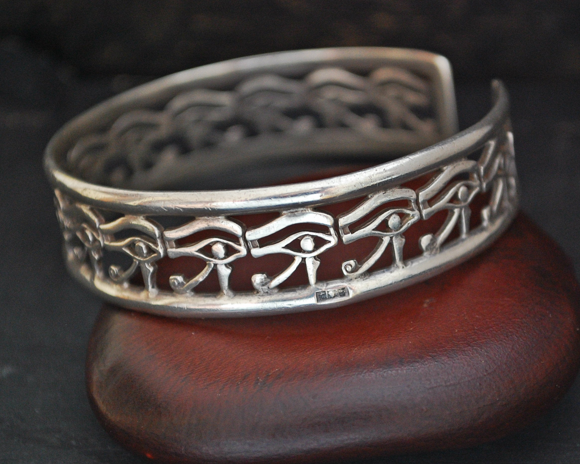 Egyptian Eye of Horus Cuff Bracelet