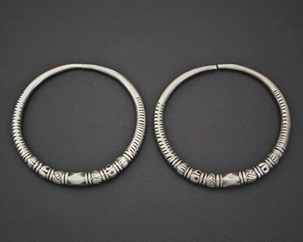 Afghani Hoop Earrings - LARGE
