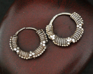 Old Mauritanian Hoop Earrings