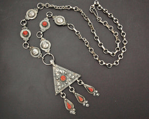 Berber Kabyle Coral Necklace