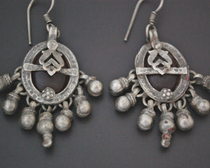 Rajasthani Earrings with Glass