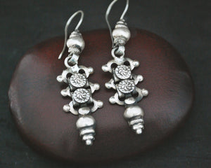 Rajasthani Silver Earrings