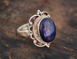 Lapis Lazuli Ring from India