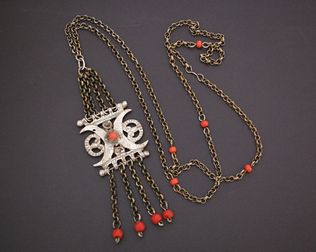 Armenian Coral Necklace