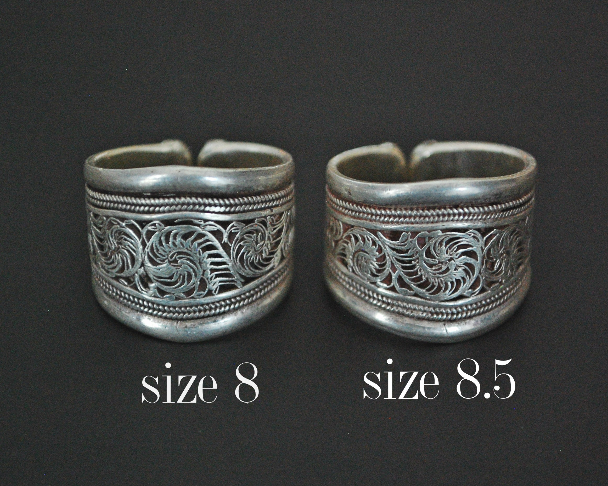 Nepali Filigree Band Ring